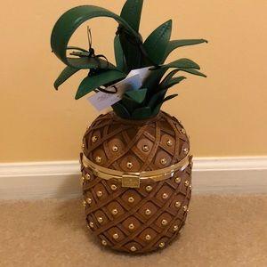 Kate Spade pineapple wristlet